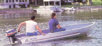 Meyers Laker 12 Aluminum Boat #000A-12